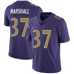 Nike Iman Marshall Baltimore Ravens Limited Purple Color Rush Vapor Untouchable Jersey - Youth