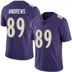 Nike Mark Andrews Baltimore Ravens Limited Purple Team Color Vapor Untouchable Jersey - Youth