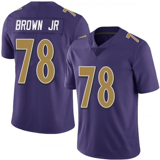 Nike Orlando Brown Jr. Baltimore Ravens Limited Purple Team Color Vapor Untouchable Jersey - Youth