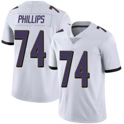 Nike Tyre Phillips Baltimore Ravens Limited White Vapor Untouchable Jersey - Youth