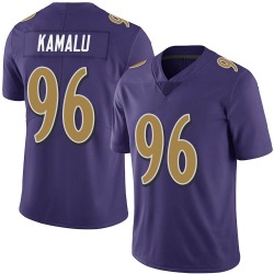 Nike Ufomba Kamalu Baltimore Ravens Limited Purple Team Color Vapor Untouchable Jersey - Youth