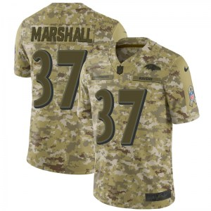 Nike Iman Marshall Baltimore Ravens Limited Camo 2018 Salute to Service Jersey - Men's