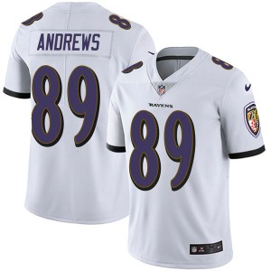 Nike Mark Andrews Baltimore Ravens Limited White Vapor Untouchable Jersey - Youth