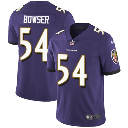 Nike Tyus Bowser Baltimore Ravens Elite Purple Team Color Jersey - Youth